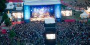 Peace and Love-festivalen 2011.  FREDRIK SANDBERG / TT / TT NYHETSBYRÅN
