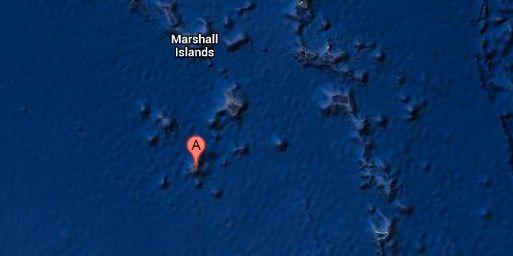 Ebon-atollen Google maps