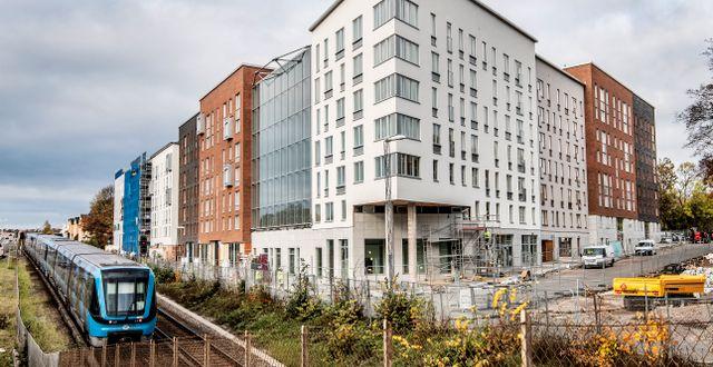 Bostadsbolaget Bonava bygger bostäder vid Kristinebergs slottspark Tomas Oneborg/SvD/TT / TT NYHETSBYRÅN