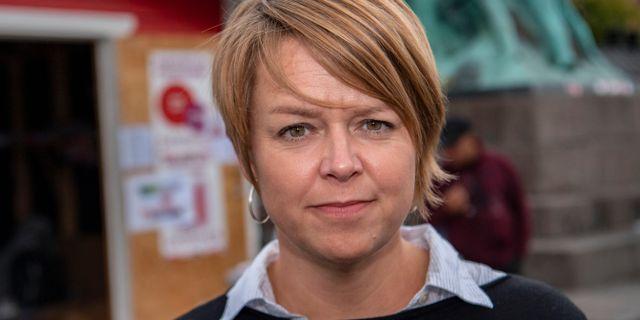 Katrin Stjernfeldt Jammeh.  Johan Nilsson/TT / TT NYHETSBYRÅN