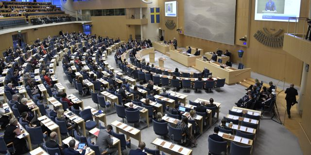 Riksdagen. Janerik Henriksson/TT / TT NYHETSBYRÅN