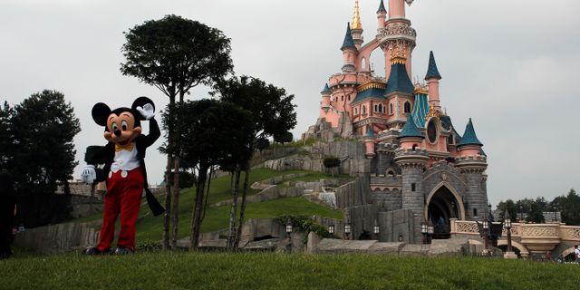 Disneyland i Paris. Francois Mori / TT NYHETSBYRÅN