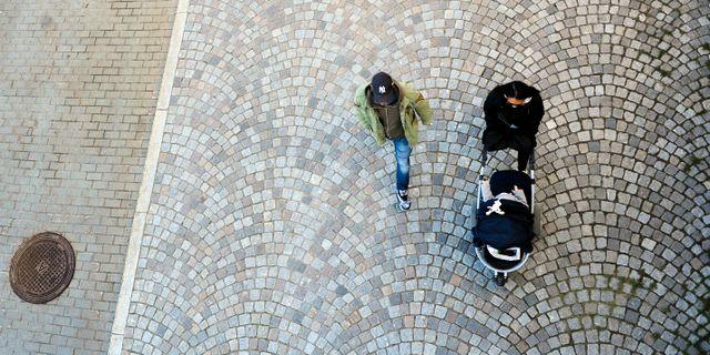 Barnfamilj. Arkivbild. Hasse Holmberg / TT / TT NYHETSBYRÅN