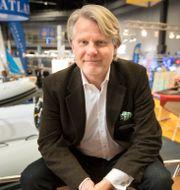Sweboats Mats Eriksson vid en tidigare båtmässa. Thomas Johansson/TT / TT NYHETSBYRÅN