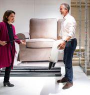 Lena Pripp-Kovac, hållbarhetschef Inter Ikea, och Torbjörn Lööf, koncernchef Inter Ikea – svenskarnas drömarbetsgivare. Johan Nilsson/TT / TT NYHETSBYRÅN