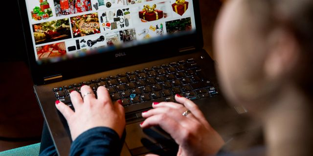 Arkivbild. E-handel.  Larsen, Håkon Mosvold / TT NYHETSBYRÅN