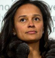 Isabel dos Santos. Paulo Duarte / TT NYHETSBYRÅN