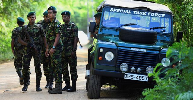 Lankesisk militär. ISHARA S. KODIKARA / AFP