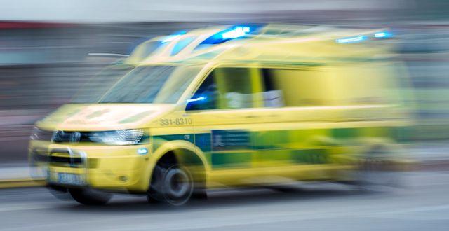 Ambulans.  Stina Stjernkvist/TT / TT NYHETSBYRÅN