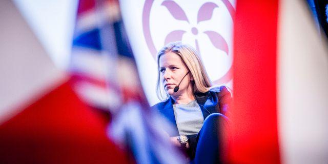 Kinneviks storägare och avgående styrelseledamot Cristina Stenbeck.  Magnus Hjalmarson Neideman/SvD/TT / TT NYHETSBYRÅN