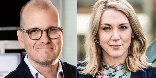 Bornold och Bratt. Magnus Sandberg / AFTONBLADET / TT