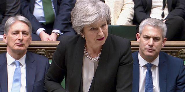 Theresa May REUTERS TV / TT NYHETSBYRÅN