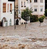 Översvämning i Österrike. Shutterstock