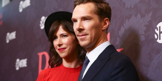 Benedict Cumberbatch och Sophie Hunter. Rich Fury / GETTY IMAGES NORTH AMERICA