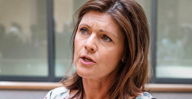 Arbetsmarknadsminister Eva Nordmark (S). Arkivbild. Naina Helén Jåma/TT / TT NYHETSBYRÅN