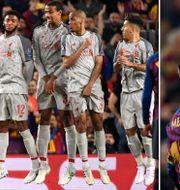 Messi skruvar in 3–0. TT/Bildbyrån