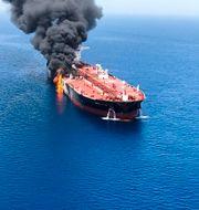 Läget mellan Iran och USA trissas upp.  HANDOUT / TT NYHETSBYRÅN