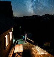 Illustrationsbild: Gelmerhütte i Schweiz.  ANTHONY ANEX / TT NYHETSBYRÅN