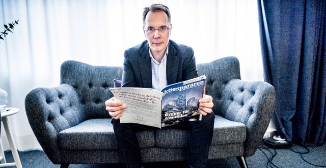 Aktiespararnas vd Joacim Olsson. Arkivbild. Magnus Hjalmarson Neideman/SvD/TT / TT NYHETSBYRÅN