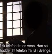 Skärmdump från NRK