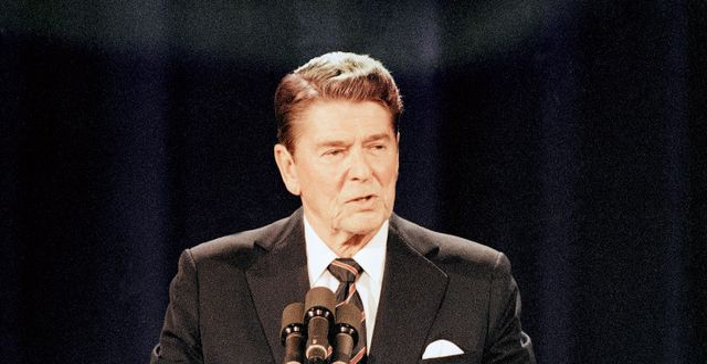 Ronald Reagan. Chuck Robinson / TT NYHETSBYRÅN