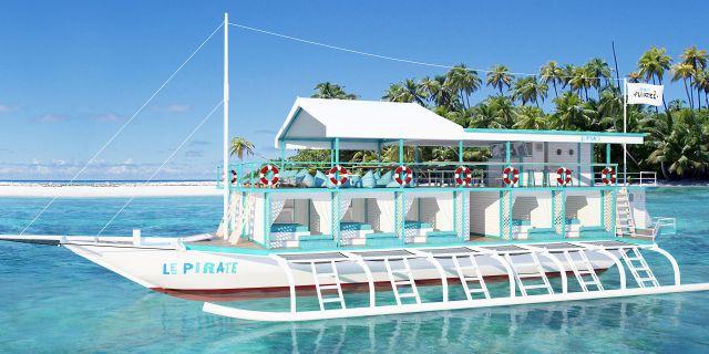 Le Pirate Resort är ett drömboende från 300 kronor natten. lepirate.com