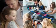 Genrebild, familj/illustrationsbild från skola i Stockholm TT