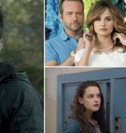 Ozark, Insatiable och 13 reasons why. HBO/Netflix/Netflix