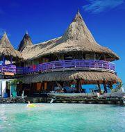 Karibiens kanske coolaste hostel ligger på en egen ö i Colombia. Casa en el Agua