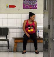 Gravid kvinna Honduras ORLANDO SIERRA / AFP