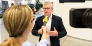 Börje Ekholm.  HENRIK SÄLL/TT / TT NYHETSBYRÅN