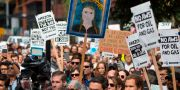 Amazon Employees for Climate Justice. JASON REDMOND / AFP