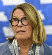 Svensk Handels vd Karin Johansson. Henrik Montgomery/TT / TT NYHETSBYRÅN