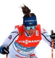 Charlotte Kalla. Matthias Schrader / TT NYHETSBYRÅN