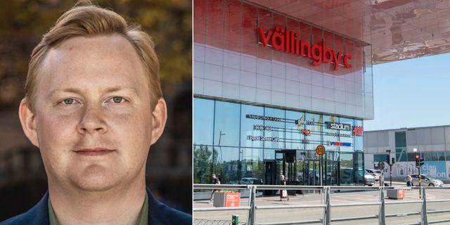 Dennis Wedin/Vällingby centrum.  TT