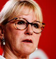 Utrikesminister Margot Wallström (S). Arkivbild.  Henrik Montgomery/TT / TT NYHETSBYRÅN