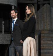 Prins Carl-Philip och prinsessan Sofia/Arkivbild Fredrik Sandberg/TT / TT NYHETSBYRÅN