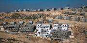 Ett byggprojekt tidigare i år i den israeliska bosättningen Naale på Västbanken.  Ariel Schalit / TT NYHETSBYRÅN