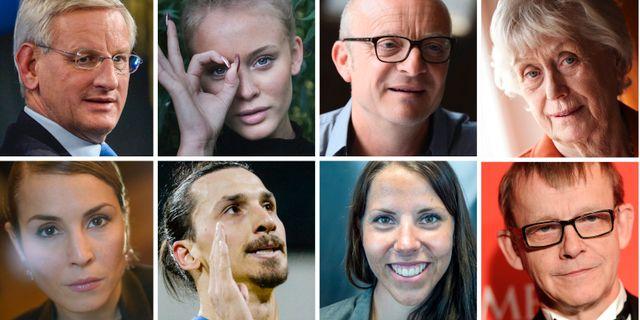 "Svenska kändisar i upprop  ""Vi står upp mot rasismen"" - Omni 1f022af01b915"