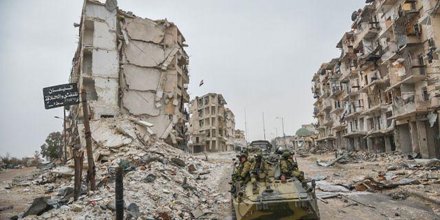 Arkivbild: Aleppo. TT / NTB Scanpix