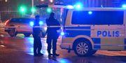 Polisen på plats efter en skottlossning i Malmö. Johan Nilsson/TT / TT NYHETSBYRÅN