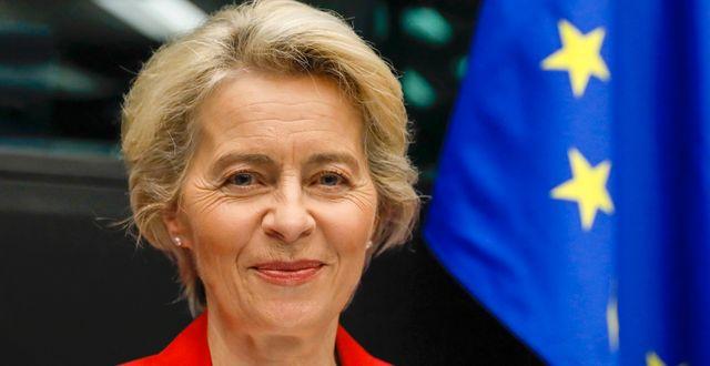 Ursula von der Leyen.  Julien Warnand / TT NYHETSBYRÅN