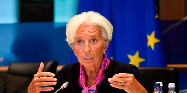 ECB-chefen Christine Lagarde JOHN THYS / AFP