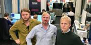 David Höök, Fredric Rylander och Tim Bjelkstam. Centrum för rättvisa