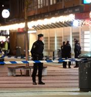 En 17-åring dömdes för mord efter dödsskjutnigen inne på en pizzera i Rinkeby 2018. Fredrik Sandberg/TT / TT NYHETSBYRÅN