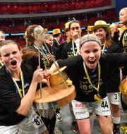Täby tog historiskt SM-guld. Jonas Ekströmer/TT / TT NYHETSBYRÅN