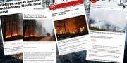 Internationella medier Roni Lehti / TT / NTB Scanpix