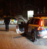 Arkivbild från polisens insats.  Samuel Pettersson/TT / TT NYHETSBYRÅN