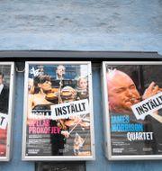 Inställda konserter i Stockholm. Ali Lorestani/TT / TT NYHETSBYRÅN