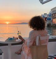 Turism i Grekland. Derek Gatopoulos / TT NYHETSBYRÅN